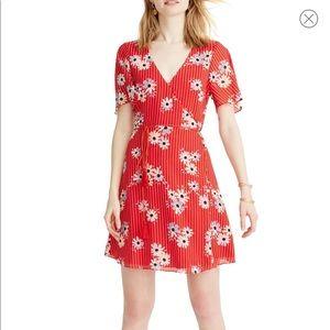 Madewell Daisy Society Button Faux Wrap Dress